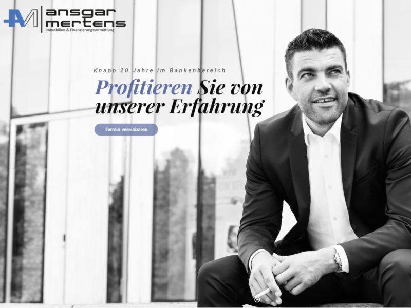 Ansgar Mertens // Immobilien- und Finanzierungsvermittlung